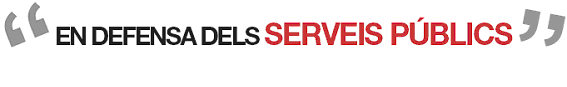 logo defensa serveis públics / logo defensa servicios públicos
